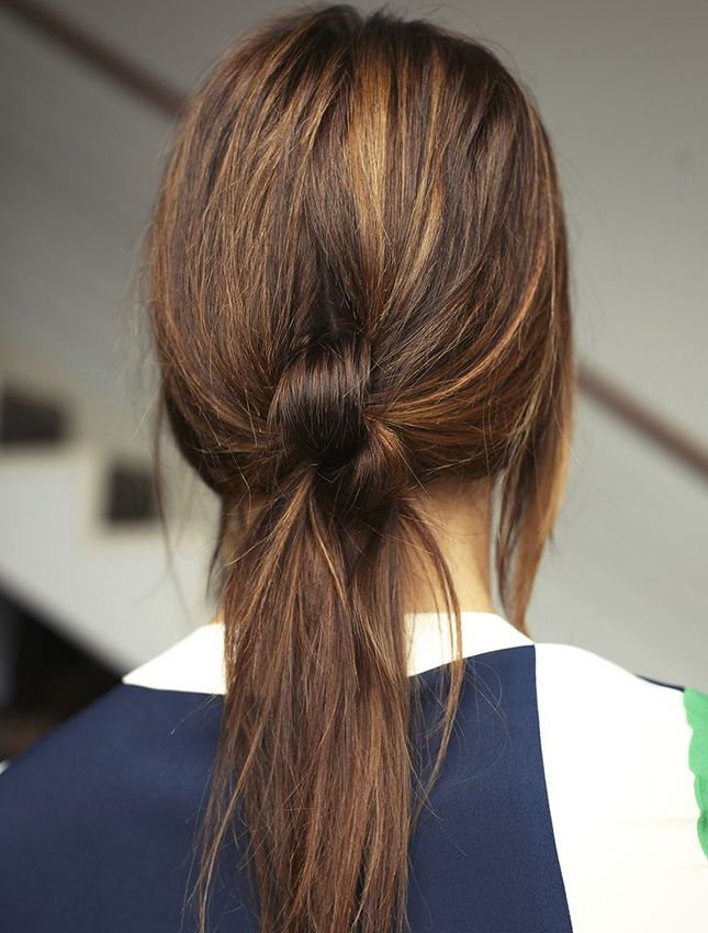 18 Hairstyles That Can Stand Up to Crazy Spring Weather via Brit + Co.