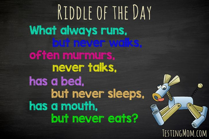 Do you know the answer? #riddle #fun #kids Answer: A river ...