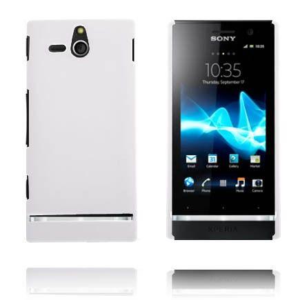 Hårdskal (Vit) Sony Xperia U-Skal