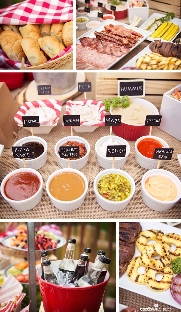 3013 best party ideas images on pinterest birthday for Summer party menu ideas