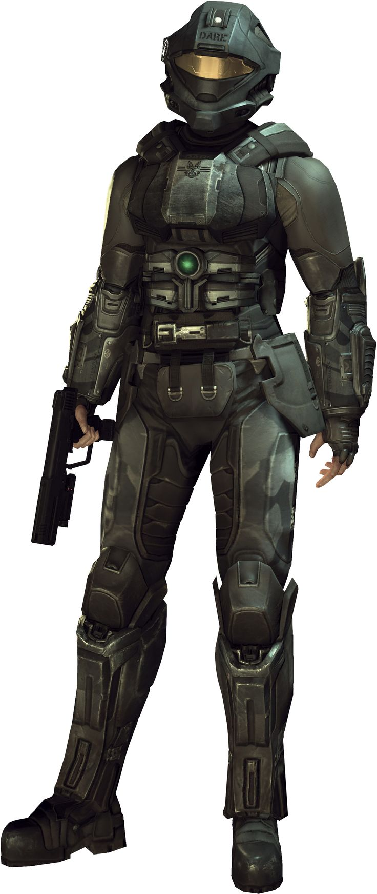 'Miss Naval Intelligence' Veronica Dare- HALO 3: ODST