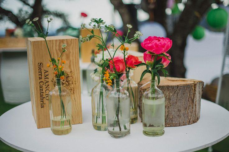 Boda en Marbella con decoración vintage. Flowers by L&N Floral Design.