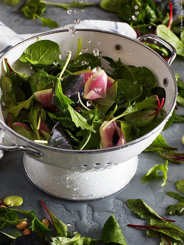 Recept: sallad med grön ranchdressing | Livet Hemma – IKEA