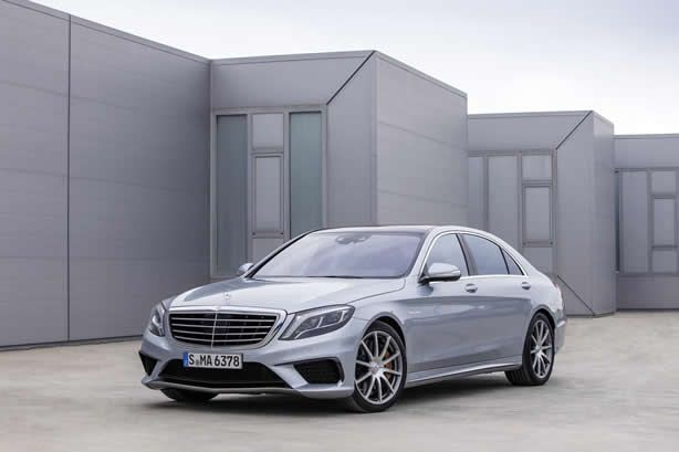 2014 Mercedes-Benz S63 AMG breaks cover