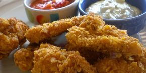 KFC Usulü Soslu Çıtır Tavuk Parçaları
