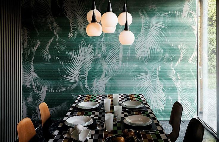 Wall and deco via col vento interiors pinterest interieurs deco en interieur - Keukenmuur deco ...