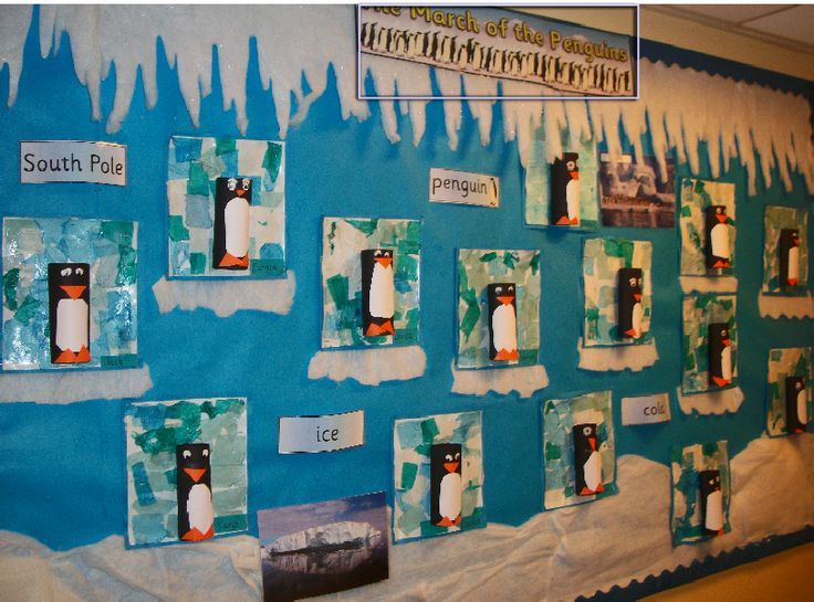 Penguin Classroom Display Photo - SparkleBox