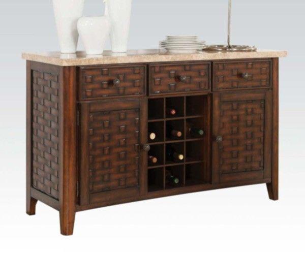Acme Furniture   Maite Server In Light Brown   71513