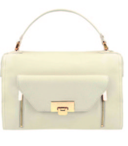 Charles & Keith gold detail bag - R899