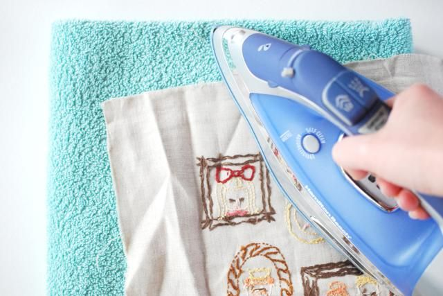 When your embroidery is wrinkled, how do you iron your work without ruining it? Follow this guide for the best way to press finished embroidery.