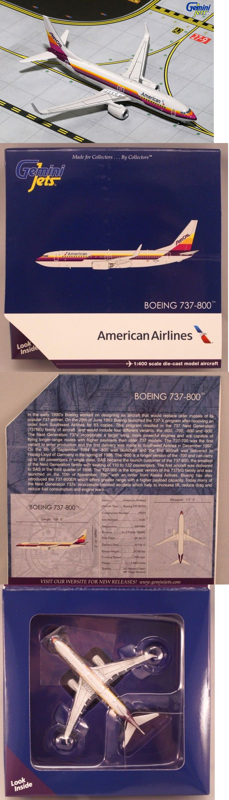 Contemporary Manufacture 19029: Gemini Jets American Airlines Boeing 737-800 Aircal Retro 1 400 Gjaal1515 -> BUY IT NOW ONLY: $30.99 on eBay!