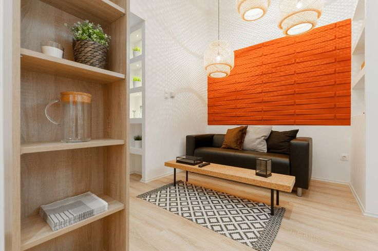 Warm and cosy livingroom.