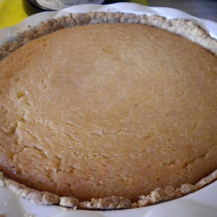 Found this recipe in one of my Amish cookbooks and made it. It's an easy old fashion pie to make and it's best to eat while still slightly warm.