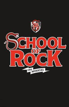 School of Rock—The Musical, Winter Garden Theatre, NYC Show Poster