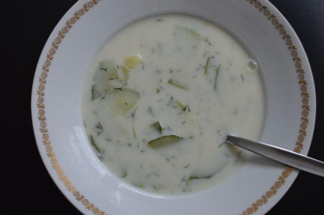 Summer Cucumber Soup
