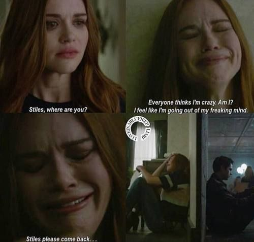 Teen Wolf 6x05--> he said if anything happened to her he'd go out of his freaking mind but she feels the same way... <3
