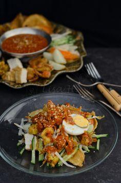 Malaysian-Indian Salad (Indian Rojak)