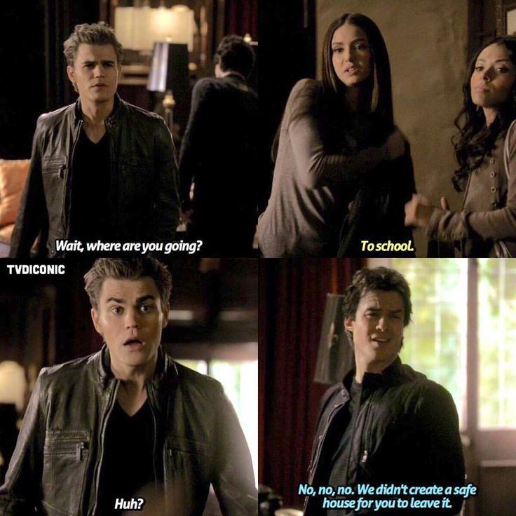 """""""Your way Elena""""-Damon"""