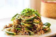northern thai eggplant salad