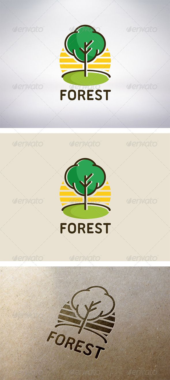 Tree Logo #GraphicRiver - Three color version: color, greyscale and single color. - The logo is 100% resizable. - You can change text and colors very easy using the named and organized layers that includes the file. - The typography used is Ubuntu Titling you can download here: .fontsquirrel /fonts/Ubuntu-Titling Created: 30October13 GraphicsFilesIncluded: VectorEPS #AIIllustrator Layered: Yes MinimumAdobeCSVersion: CS Resolution: Resizable Tags: agency #app #brand #business #children…