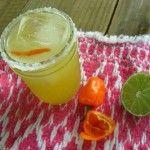 A summer of cocktails:  Habanero maple vodka margarita