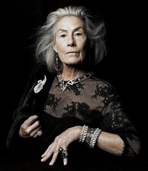 joan juliet buck models jewels in wsj magazine portrait on wall street journal subscription id=85197