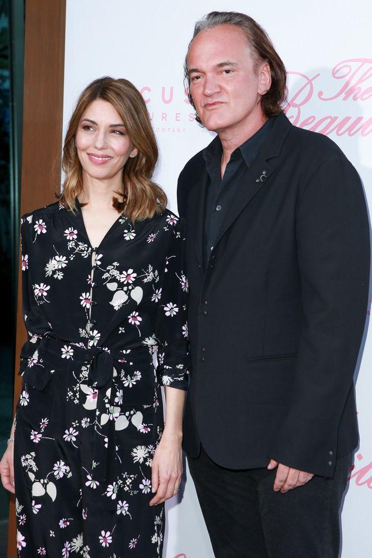 София Коппола и Квентин Тарантино на американской премьере драмы «Роковое искушение»
