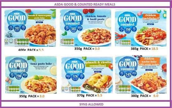 Syn value asda good & counted