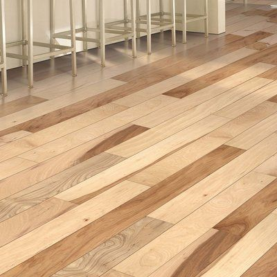 "Mohawk Randhurst Map SWF 3-1/4"" Solid Hickory Hardwood Flooring in Natural"