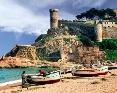 Tossa de Mar, Catalonia, Spain.