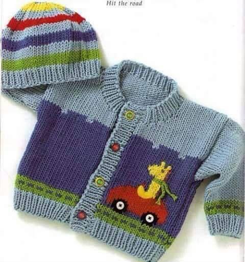 Wunderschönes Baby Strickmuster canimanne.com / …   – Bebek Örgüleri