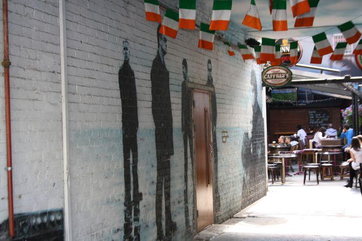 Legendary band, U2 street art in Dublin. Artist/s unknown.