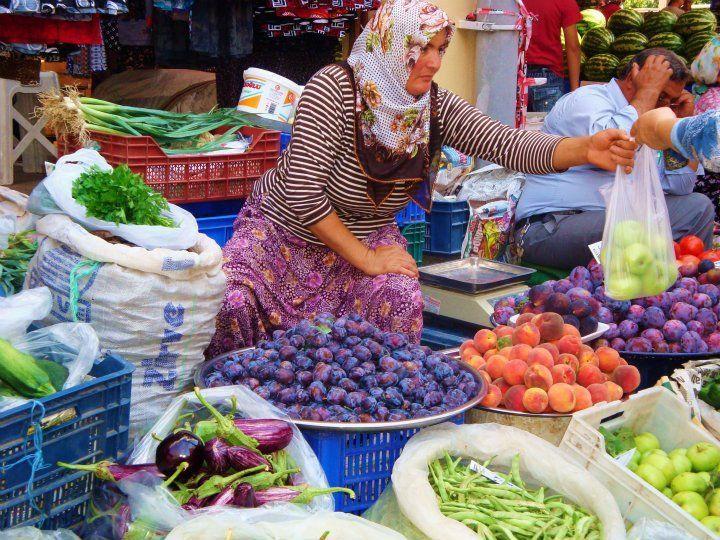 Antalya pazar, Turkey: http://www.ytravelblog.com/antalya-turkey/
