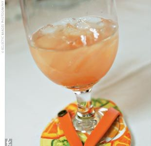 1 1/2 oz light rum  1 oz chardonnay  3/4 oz cranberry juice  3/4 oz orange juice  1/2 oz lime juice  1/2 oz simple syrup  1 1/2 oz champagne    Shake all ingredients except champagne with ice. Strain into ice-filled wine glass. Top with champagne.