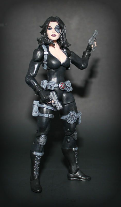 Domino (Marvel Legends) Custom Action Figure