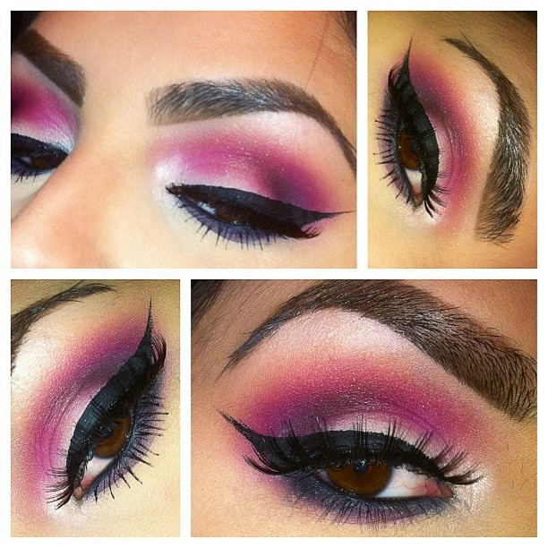All shadows used are Coastal Scents