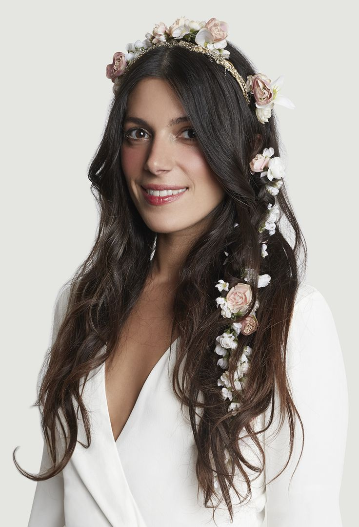 Stone Fox Bride - Headpiece - Floral Crown #hairstyles #bridal