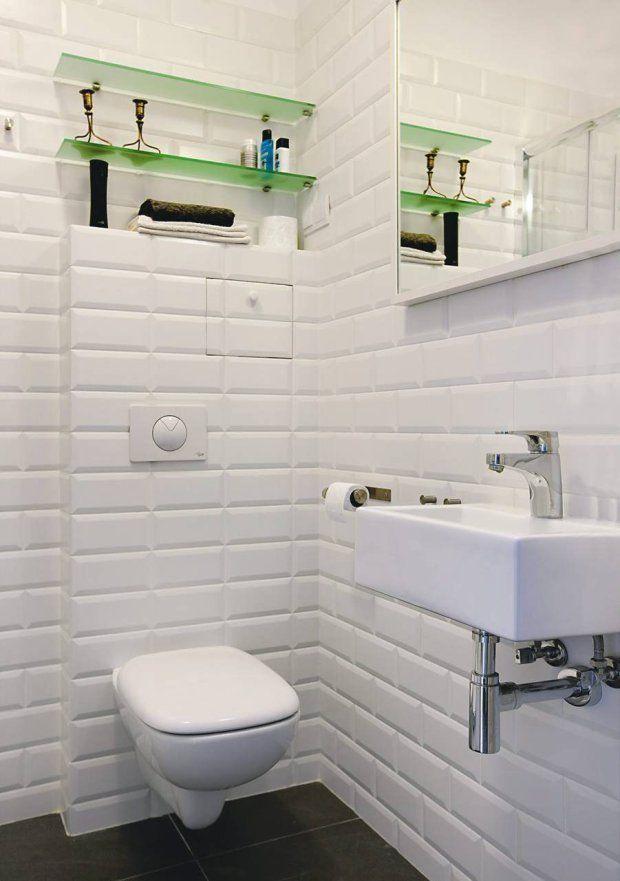 Blog Dla Ludzi Z Wnętrzem Płytki Cegiełki łazienka