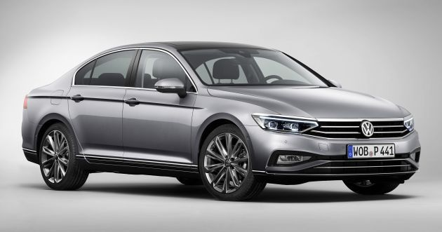 B8 Volkswagen Passat Facelift Revealed New Mib3 Infotainment And Iq Drive Assistance Systems Vw Passat Volkswagen Passat Volkswagen