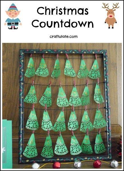 how to make a christmas countdown