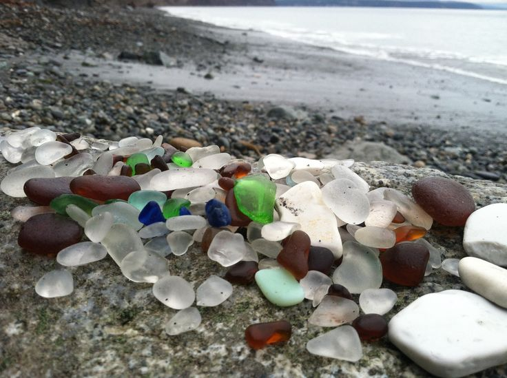 Olympic Peninsula - Glass Beach - Port Townsend, WA