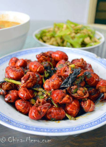Chinese Spicy Lobsters. #recipe. www.china-memo.com