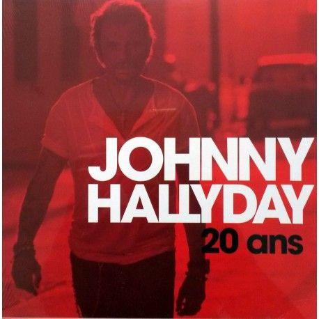 Johnny Hallyday 20 ans 2013 (10'')
