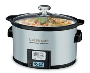 This Programmable 3.5QT Slow Cooker by Cuisinart is a kitchen essential