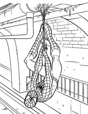 Amazing Spiderman Coloring Pages 15