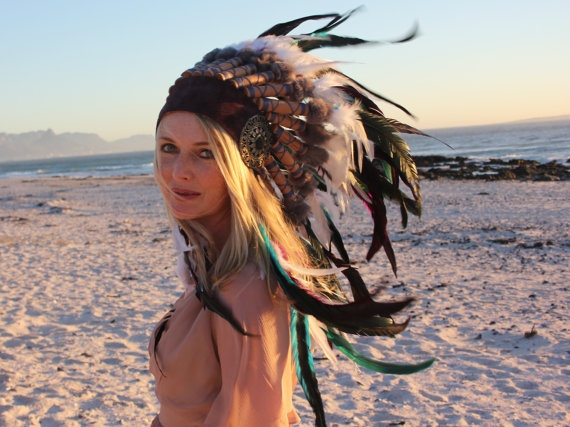 $417, Your own headdress, designed by all those British Lakota people.