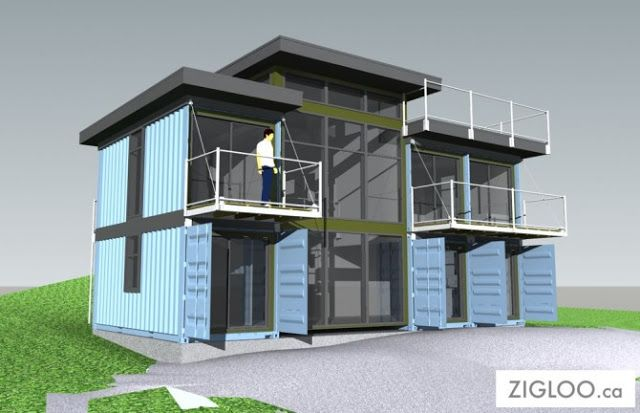 1000 images about container construction on pinterest container architecture cabin and - Ecopod container home ...