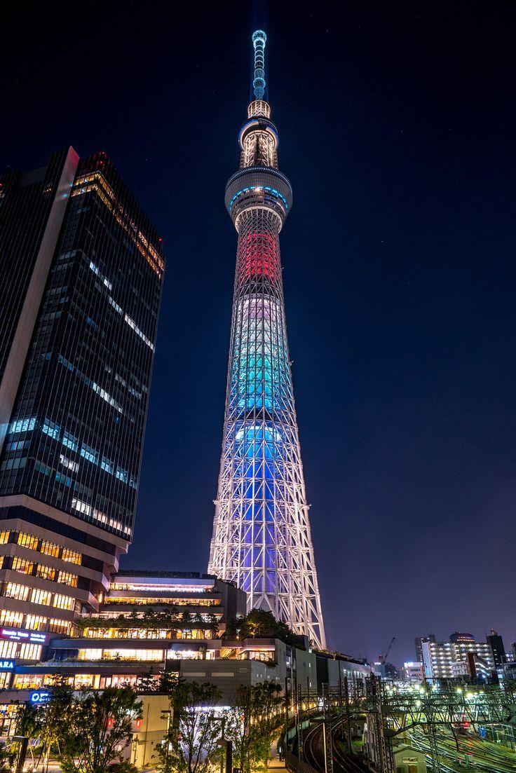 Tokyo Sky Tree ドリカムがプロデュースしたスカイツリーのライトアップ