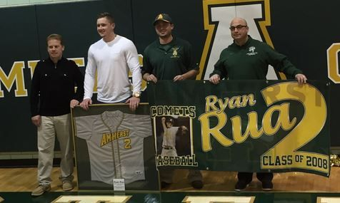 AMHERST, Ohio - Ryan Rua was a successful athlete while attending Amherst Steele High School and his success continued into college, Minor League Baseball and eventually, Major League Baseball. Rua...
