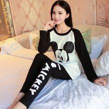 JRMISSLI Cotton Pijama Entero Pyjama Femme Pajamas For Women Pijama Feminino Home Clothing Women's Pajamas Pajama Women Pigiami(China)